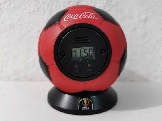 Reloj Despertador Coca Cola Korea 2002 Usado 181a