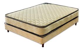 Sommier Piero Bahia Pillow Top 190 X 90 Una Plaza Y Media.