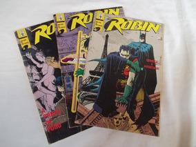 Gibi Robin Dc Comics Série Completa 3 Vol. Abril 1992