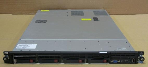 Servidor Hp Proliant Dl360 G6 2 Processadores Xeon X5570 Quadcore 16g 2 Sas 450 10k Controladora Raid P410i 12x C/ Nf