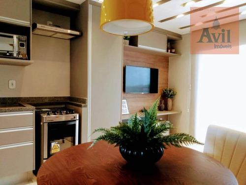 Studio Com 1 Dormitório À Venda, 33 M² Por R$ 180.000,00 - Vila Carrão - São Paulo/sp - St0033