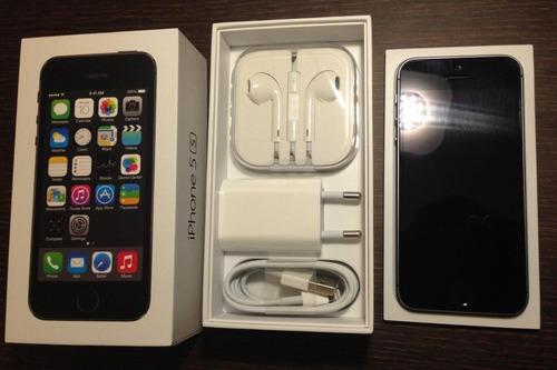 Imagen 1 de 4 de iPhone 5s 16 Gb Libre Con Accesorios Originales