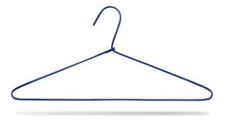 Cabide De Arame Revestido Lavanderia - Para Camisa - 100 Pçs