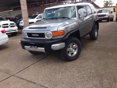 Imagen 1 de 13 de Toyota Fj Cruiser Premium 4x4 6 Cil Aut 2009 Gris