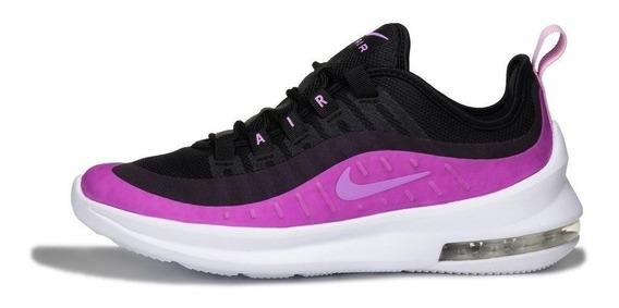 Tenis Deportivo Mujer Nike Air Max Axis 002 Negro- Morado