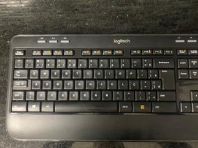 Teclado E Mouse Sem Fio Mk520 Logitech