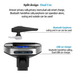 Transmisor Fm Bluetooth Con Auricular Incluído Nuevos!