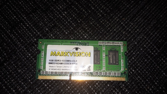 Memoria Ram 1gb Ddr3 Para Notebook