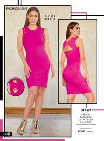 Vestido Rosa Cklass / Mundo Outlet