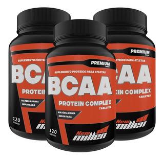 Combo 3x - Bcaa Complex 120 Tablets (total 360) - New Millen