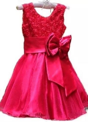 Vestido Menina Luxo Festa Princesa Tam 1 Ao 14a P. Entrega