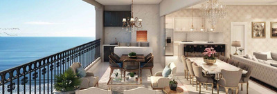 Apartamento Em Meia Praia, Itapema/sc De 180m² 4 Quartos À Venda Por R$ 1.289.000,00 - Ap240173