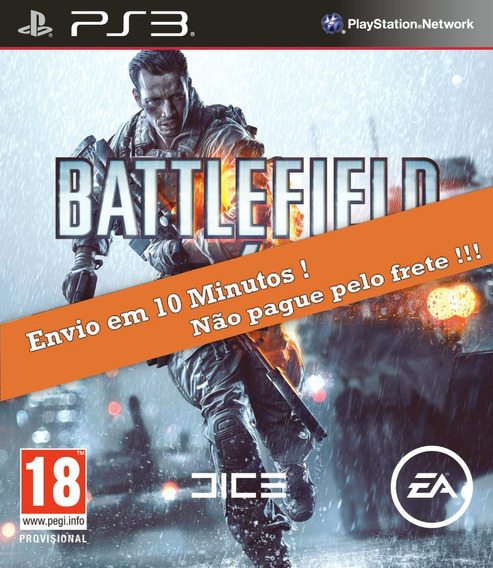 Battlefield 4 Ps3 Psn Envio Digital Mesmo Dia Original