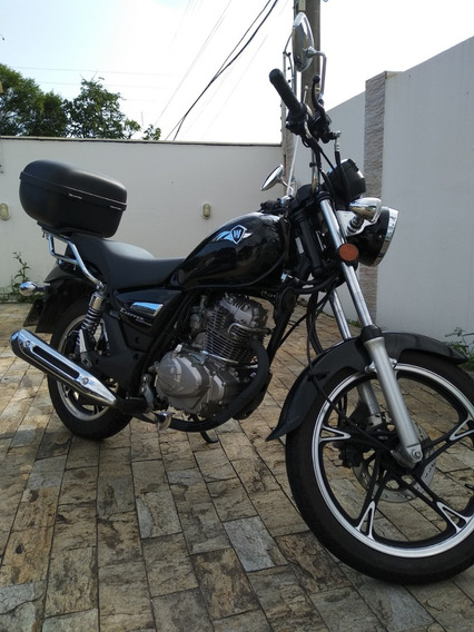 Chopper Road 150 - Ano 2019 - Moto Custom - Km 2.000