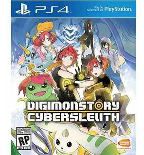 Digimon Story: Cyber Sleuth Ps4 - Juego Fisico - Prophone