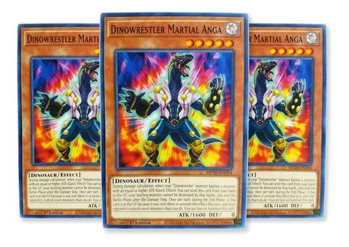 Imagen 1 de 1 de Yugi-oh! X3 Dinowrestler Martial Anga Dane-en008 Comun