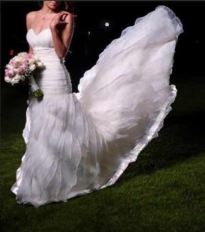 Precioso Vestido De Novia Aire, Strapless, Corte Sirena