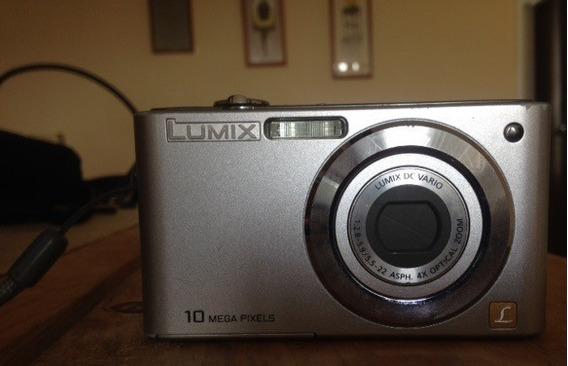 Cámara Fotográfica Panasonic De 10 Megas Pixeles