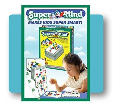 Mighty Mind Supermente Tarjetas Puzzle Para Niños