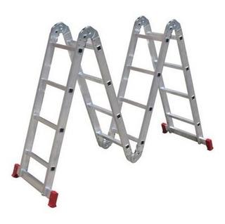 Escada Articulada Worker 4 X 3 - Frete Gratis