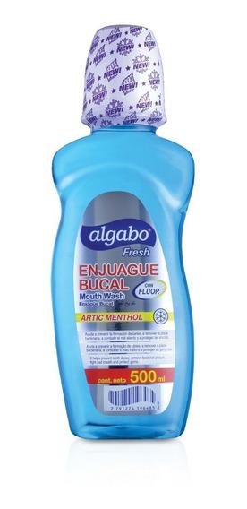 Pck X 6 Un Enjuague Bucal Algabo X 500 Grs