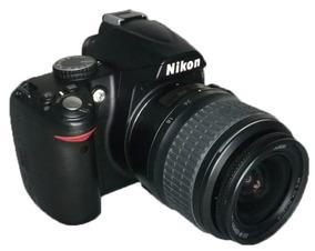 Camera Nikon D3000 + Lente 18-55mm Perfeita Todos Acessorios