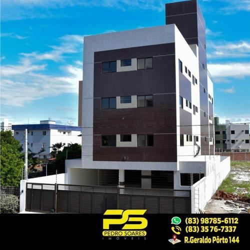 Imagem 1 de 15 de (oferta) Flat No Bessa Com 50,42m² - Fl0050