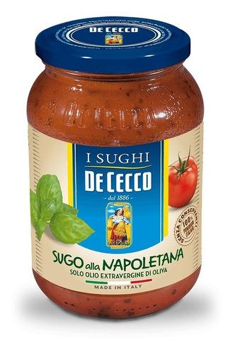 Salsa De Tomate De Cecco Sugo Alla Napoletana 190grs Italia