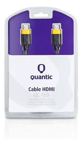 Cable Hdmi Quantic Qc-x65 1,5mts