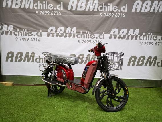 Bici Moto Electrica Valor 327.731+iva Doble Amortiguacion
