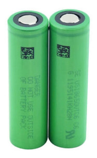 Bateria P/ Vaper Sony Vtc6 3,7v 3000mah 18650 2 Unidades