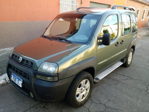 Fiat Doblo Adventure Tryon 1.8 Flex E Gnv 2007 Completa