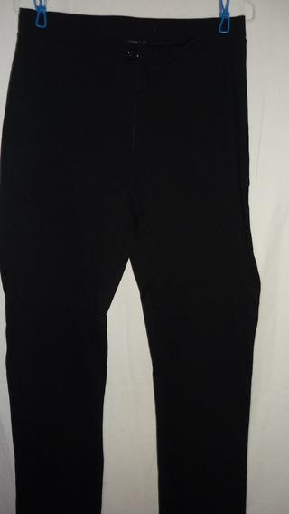 Pantalón Strech Negro Vestir Dama Usado 4 Verdes