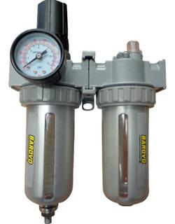 Filtro De Aire - Regulador Y Lubricador 1/4 - Barovo