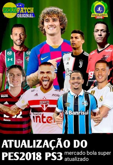 Atualização Do Pes2018 Ps3 Brasileirão 2019 Super Atualizado