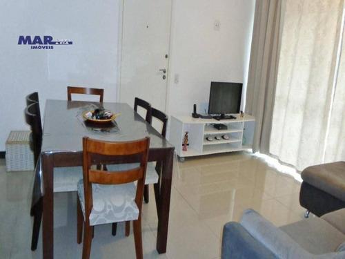 Imagem 1 de 14 de Apartamento À Venda No Guarujá, Na Praia Das Pitangueiras, Próximo Da Praia, Lazer E 02 Vagas De Garagem. - Ap11027