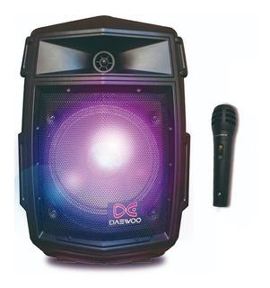 Parlante Portatil Bluetooth Bateria Led + Microfono Ultimo Modelo