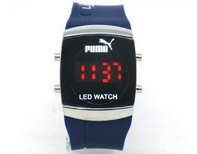 Relógio Puma Led Watch Azul Marinho
