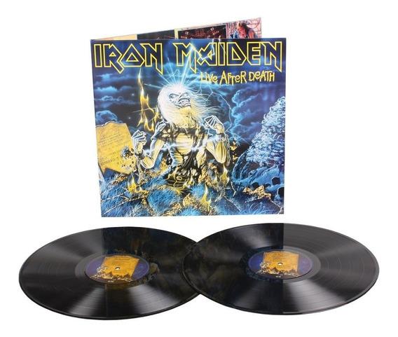 Lp Iron Maiden - Live After Death (2lp / Novo /180gr / Imp.)