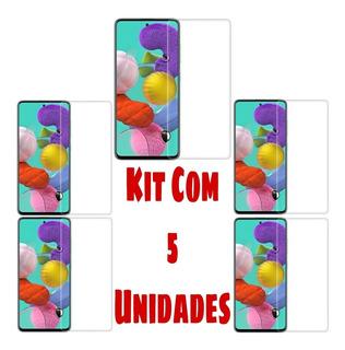 Kit 5 Películas Frontal A51 Atacado Celular Samsung Galaxy