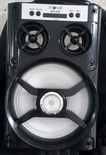 Caixa De Som Da Inova Via Bluetooth