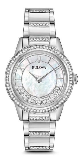 Reloj Bulova Crystal Swarovski® 96l257 Nuevo Original