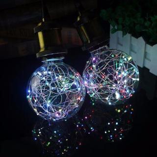 Foco Edison Led 5w Decorativo Navideño Rgb Multicolor 2 Pza