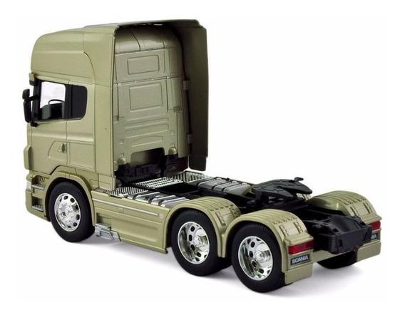 Camion Scania V8 R730 Escala 1:64 Welly