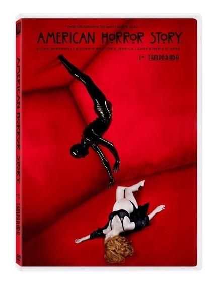 Dvd American Horror Story - 1ª Temporada - 4 Discos
