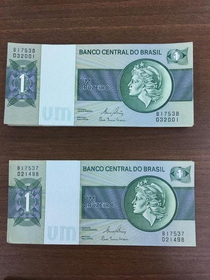 Cédulas Um Cruzeiro