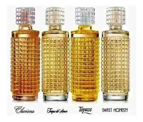 Perfume Colônia Cristal Avon 115 Ml - 4 Unidades