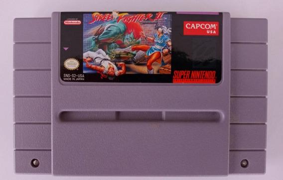 Game Street Fighter 2 Ii Original Super Nintendo Snes