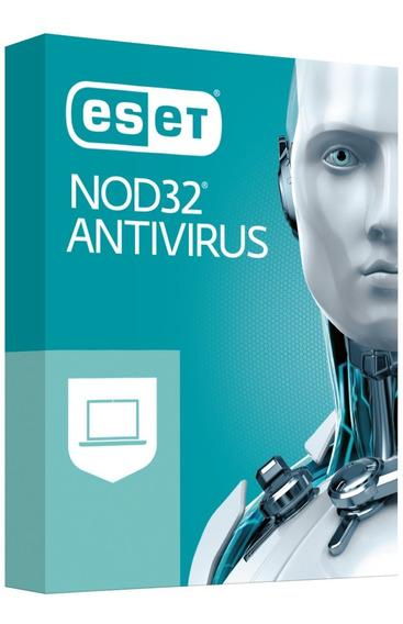 Licença Original Eset Nod32 Antivírus 3pc Envio Grátis 3anos