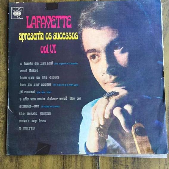 Lp Lafayette Apresenta Os Sucessos Vol 6 1968